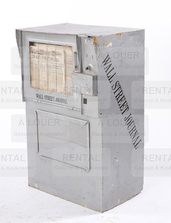 Distributrice / boîte à journaux MAINTENANT verte foncée