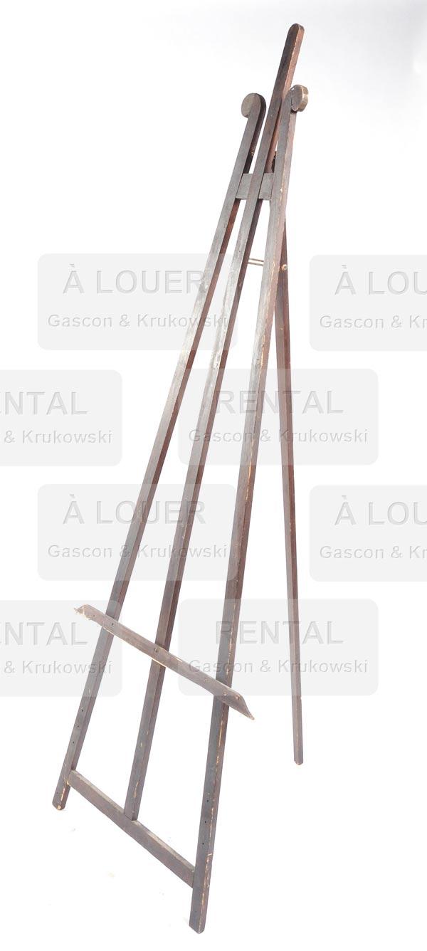 Chevalet en bois