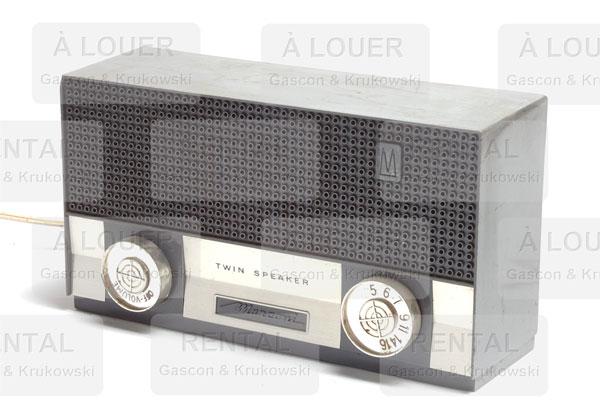 Radio rectangulaire
