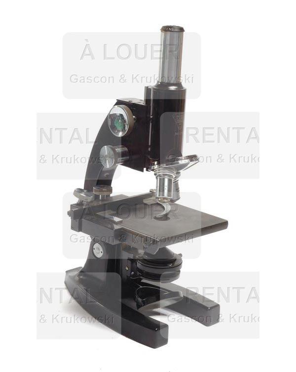 Microscope noir I