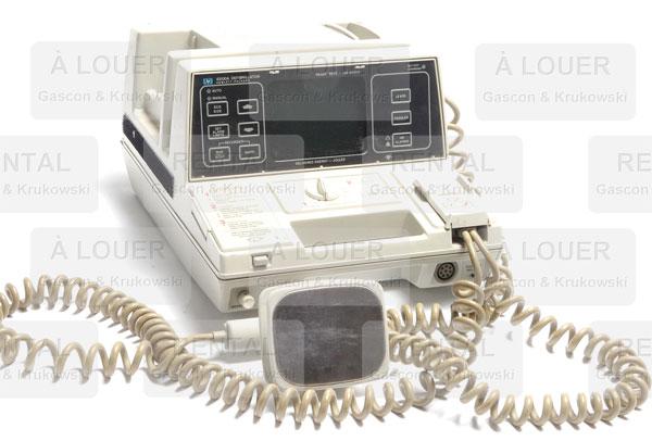 Machine de réanimation cardiaque / défibrillateur HEWLETT PACKARD