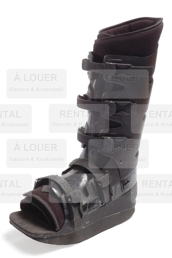 Prothèse noire pour jambe