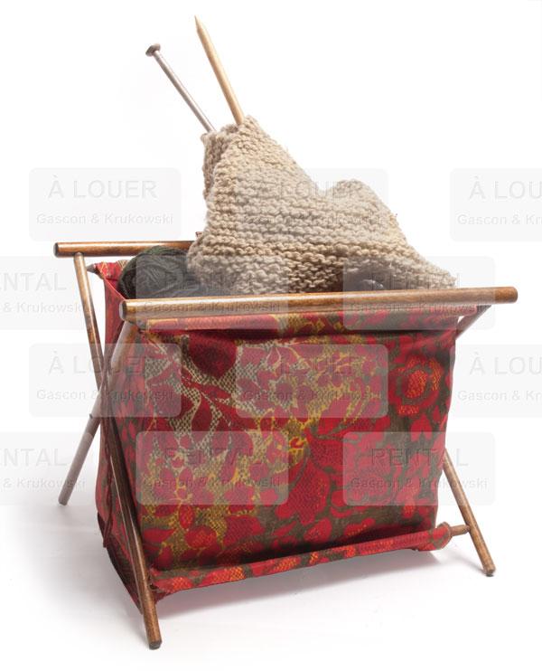 Panier pour bobines de laines