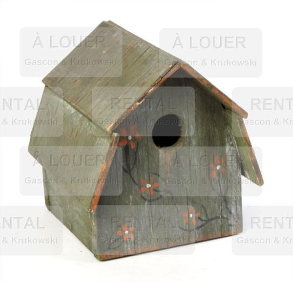 cabane oiseau bois vert gascon krukowski. Black Bedroom Furniture Sets. Home Design Ideas
