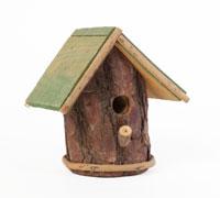 cabane oiseau tronc d arbre gascon krukowski. Black Bedroom Furniture Sets. Home Design Ideas